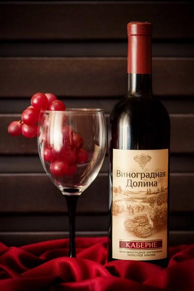 «КАБЕРНЕ» вино виноградное натуральное полусухое красное